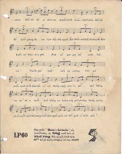 sheet nhạc