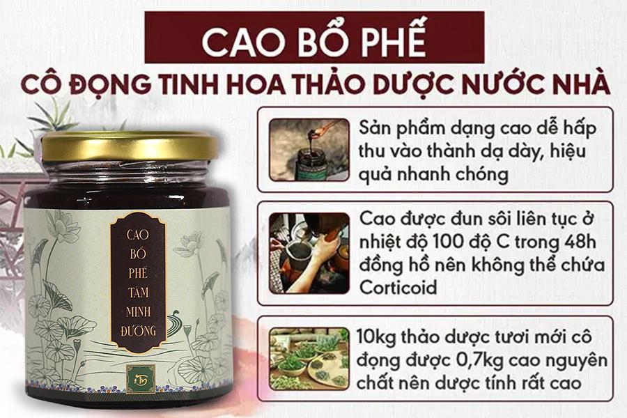 Cao Bổ Phế - Tinh hoa thảo dược Việt
