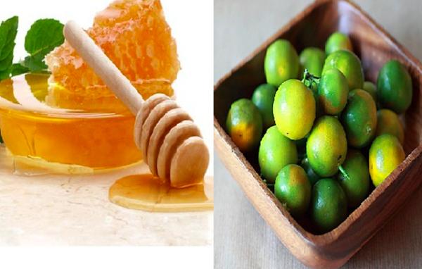 Cách chữa ho có đờm bằng mật ong và quất
