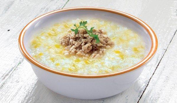 Cháo dinh dưỡng - Bị khan tiếng nên ăn gì