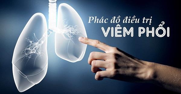 Phác đồ điều trị viêm phổi mới nhất của Bộ Y tế