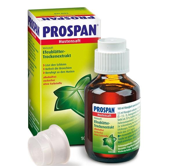 Thuốc ho Prospan cho bà bầu
