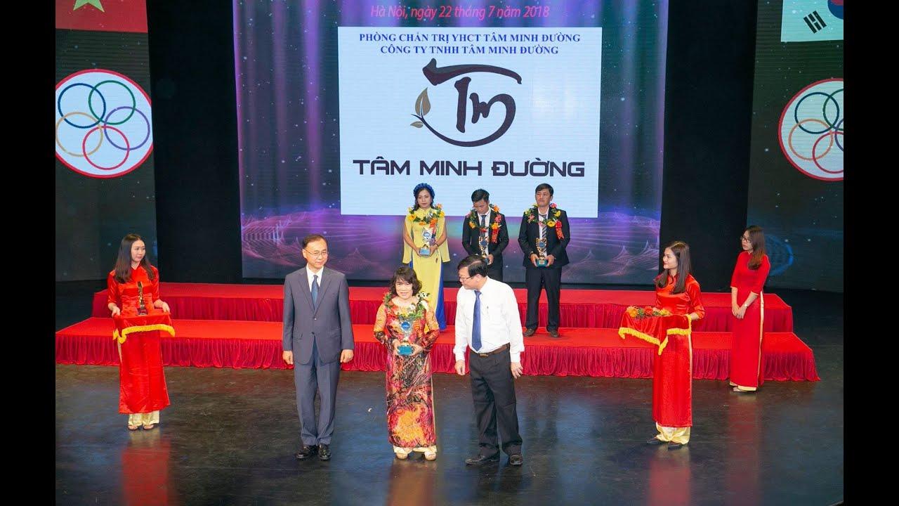 Tâm Minh Đường nhận giải thưởng thương hiệu vàng trong hoạt động chăm sóc sức khỏe của người Việt